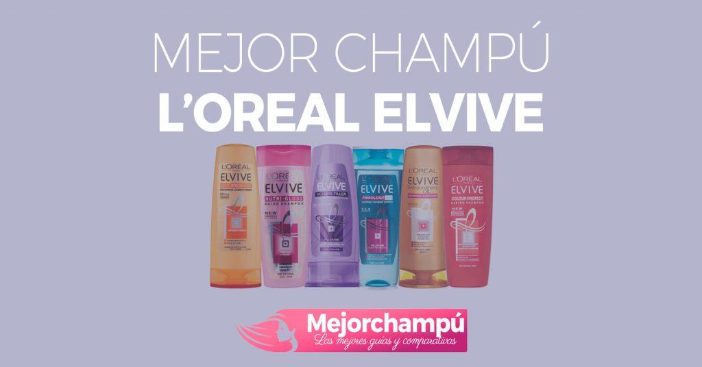 Mejor champu L'Oreal Elvive