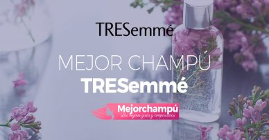 Mejor champú Tresemmé: Opiniones